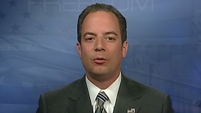 Priebus: President missed chance to lead