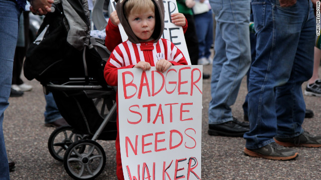 Conservatives rally for Scott Walker