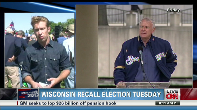 Wisconsin recall election