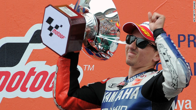 Lorenzo extends MotoGP lead with Spanish success - CNN