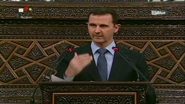 Syria's al-Assad on Houla massacre