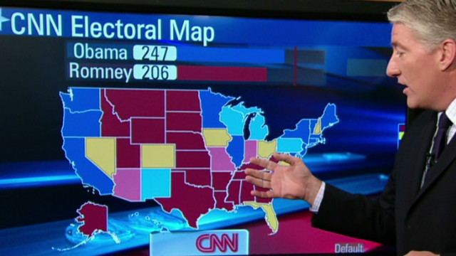 Check out CNN's new electoral map