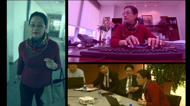 Woman at the heart of 'China's Google'