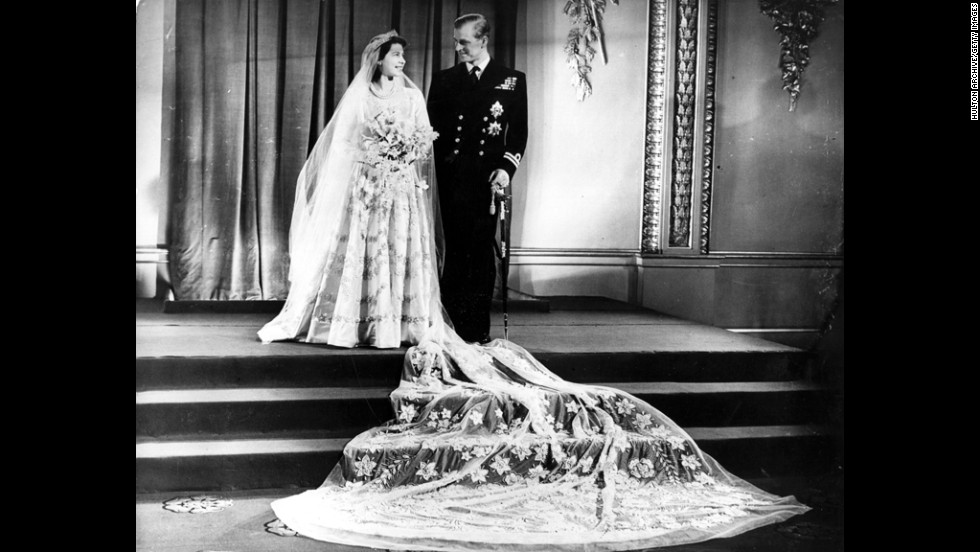 Prince Philip and Princess Elizabeth married in November 1947.
