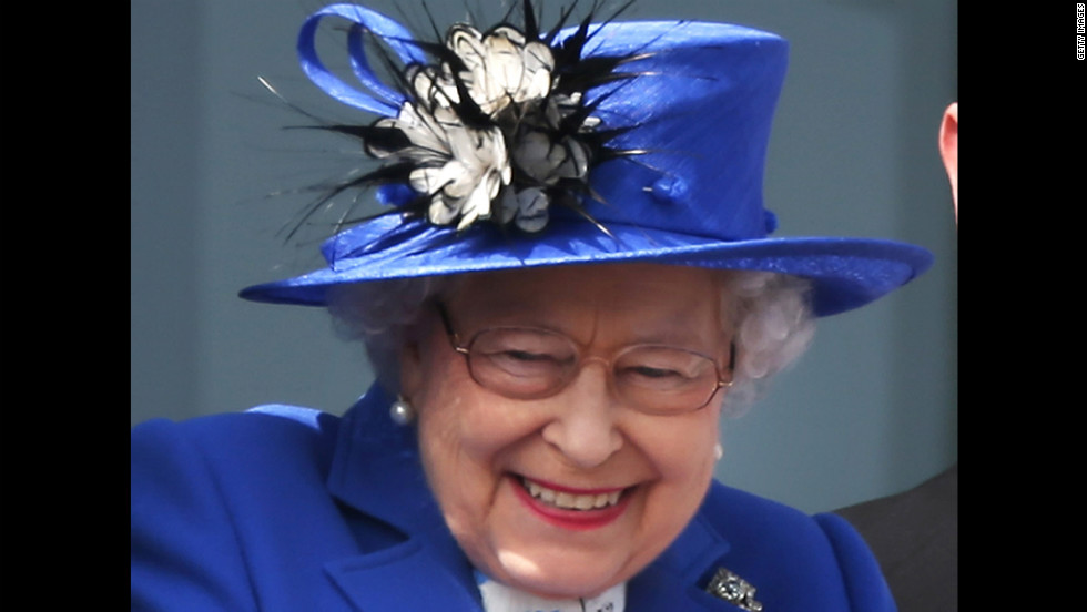 Queen Elizabeth II marks the beginning of her weekend of Diamond Jubilee celebrations with a visit Saturday to Epsom Downs for the Derby.