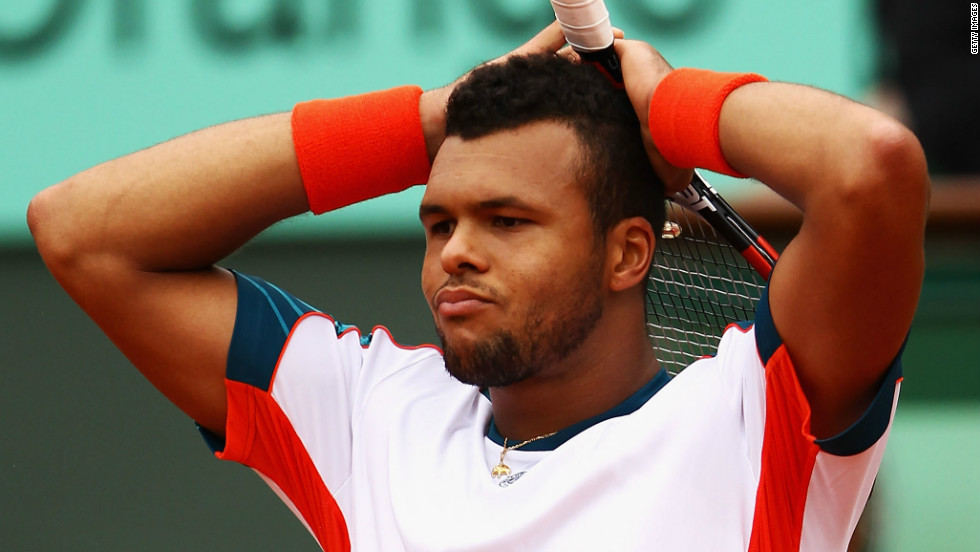 It was a bitter disappointment for Tsonga, who was playing in the last eight of his home event for the first time and was seeking to become France's first champion since 1983.