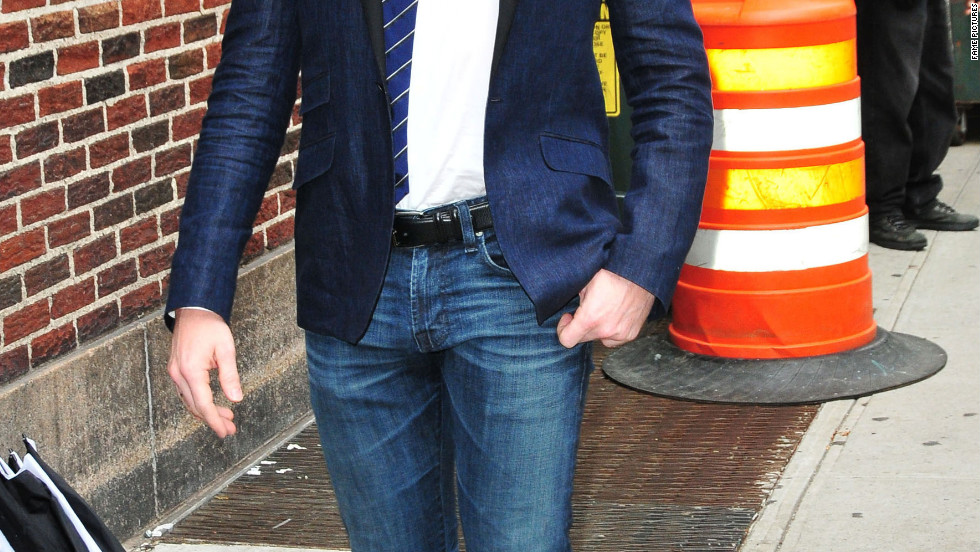 "Neil Patrick Harris visits ""The Late Show with David Letterman"" in New York City."