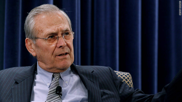 Rumsfeld: Obama confusing many on Syria