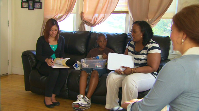 Home visits curb asthma attacks
