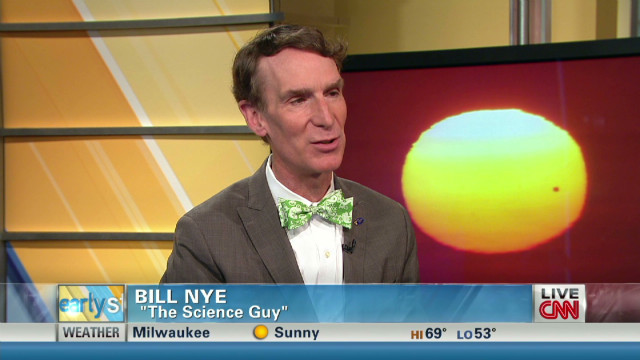 'Science Guy' Bill Nye explains it all