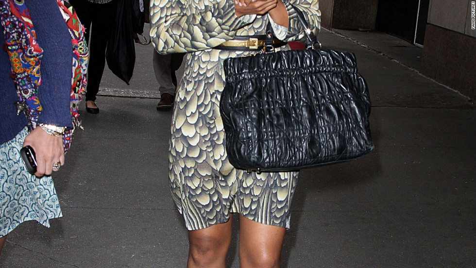 Kerry Washington leaves the MTV Studios in New York City.