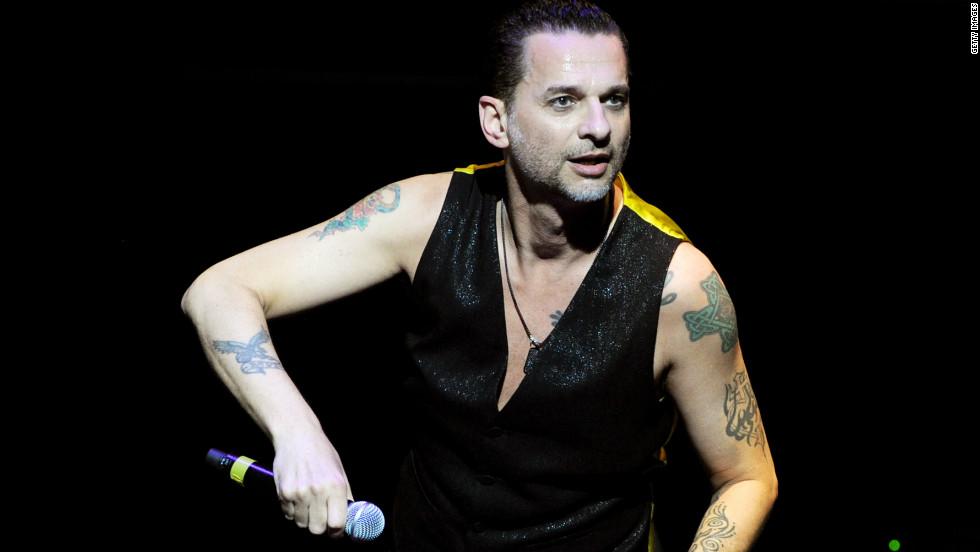 Depeche Mode frontman Dave Gahan gets spiritual