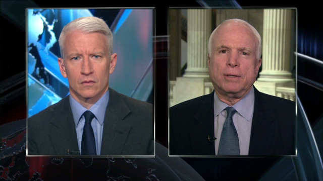 McCain: Leaks came from the White House
