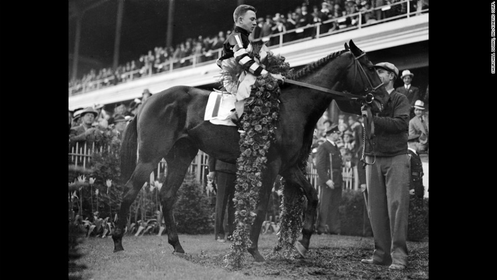 War Admiral won the Triple Crown in 1937. He won 21 of his 26 career starts.