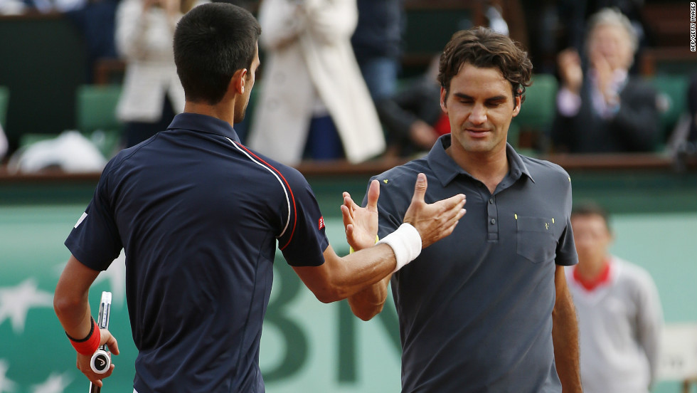 The world No. 1 avenged last year's semifinal defeat by Roger Federer to give himself the chance of becoming only the third man to hold all four grand slam titles at the same time.