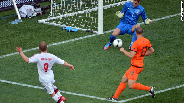 Denmark had been billed as the rank outsiders in Group B to reach Euro 2012's knockout stages.