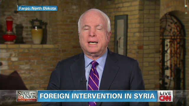 McCain: U.S. reaction to Syria shameful