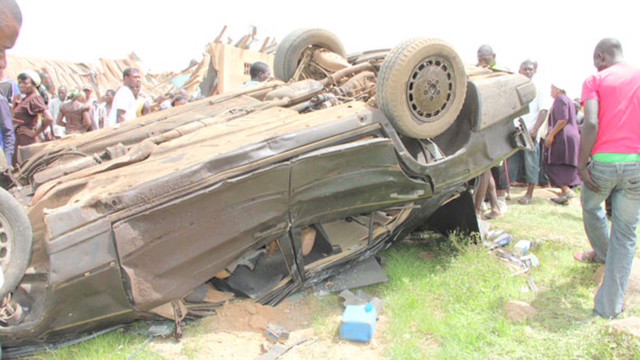 Aftermath of Nigeria church car bombing