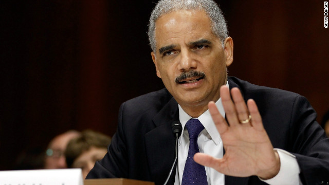 Holder: 'I don't have any intention of resigning'