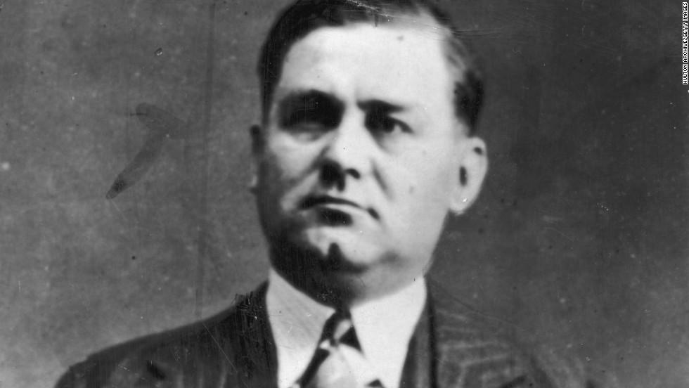 "George ""Bugs"" Moran was Al Capone's main rival in the Chicago mafia, culminating in the St. Valentine's Day Massacre in 1929 in which several members of Moran's gang were killed. Moran died in 1957."