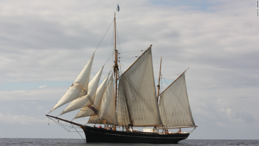 Rather than cargo trading or piracy,  most tall ships in the world today are used for long, hands-on sailing holidays.