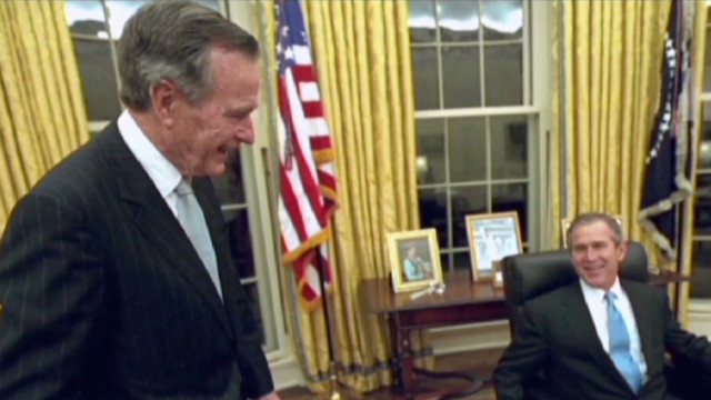 Bush: 'Emotional' to see son elected