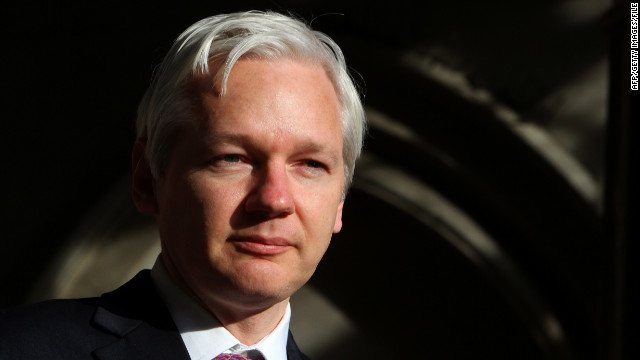 WikiLeaks founder Julian Assange has formally requested asylum from his location at the Ecuadorian Embassy in London.