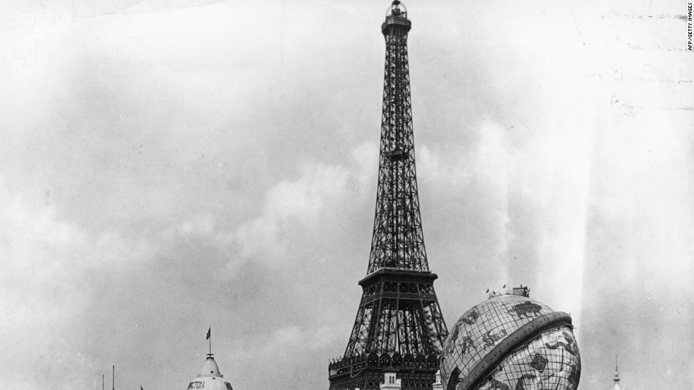 Who can imagine Paris without the Eiffel Tower? Built as the entrance way for the World's Fair of 1889, in its day it was experimental in its design and engineering.