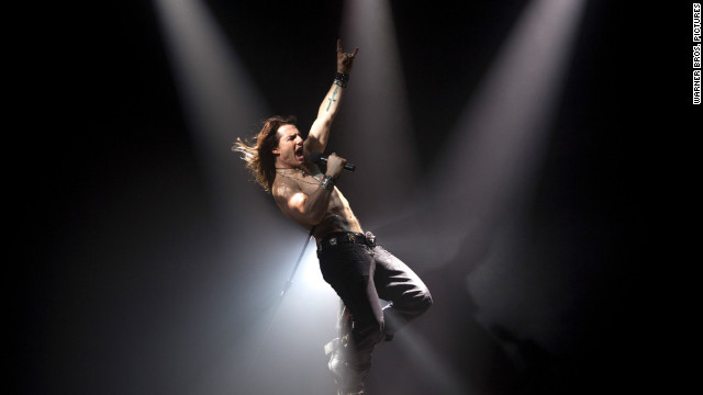 "Tom Cruise stars as Stacee Jaxx in '""Rock of Ages."""