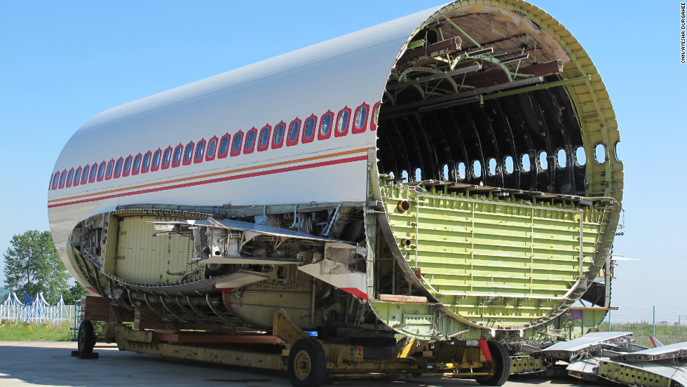 Disused airplanes go to Tarmac Aerosave's hanger facility in southern France to be dismantled and stored.