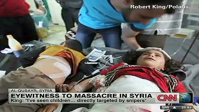 Images from Syrian carnage