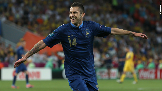 Jeremy Menez put France in front on 53 minutes and hosts Ukraine never recovered.