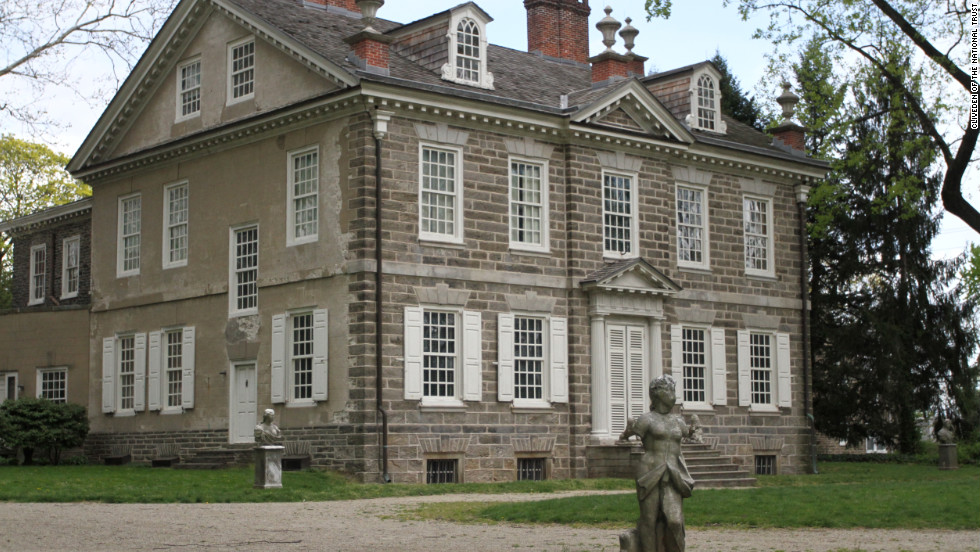 Cliveden, the 18th-century home of the Chew family, is  in the Germantown neighborhood of Northwest Philadelphia. Seven generations of the Chew family owned enslaved Africans or African-Americans. The home and its inhabitants' history is explored by interpreters on site.