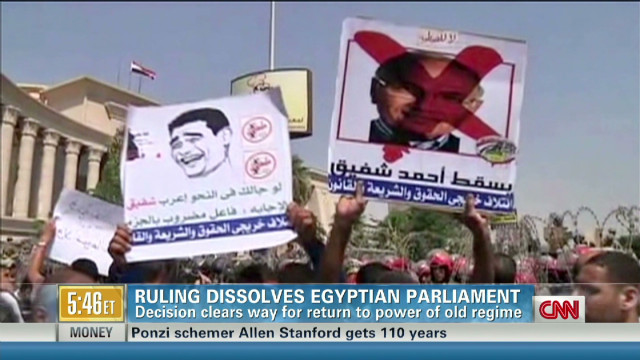 Tensions high before Egypt runoff vote