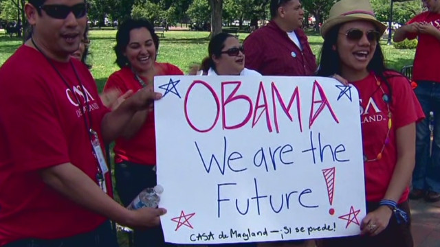 Latinos welcome immigration move