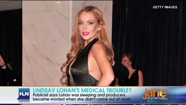 Lindsay Lohan's nap scares producers