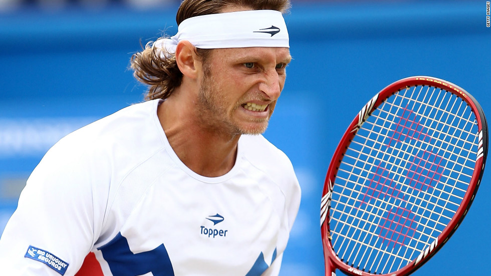 The Queen's Club final had started well for Nalbandian after he took the opening set against Marin Cilic.