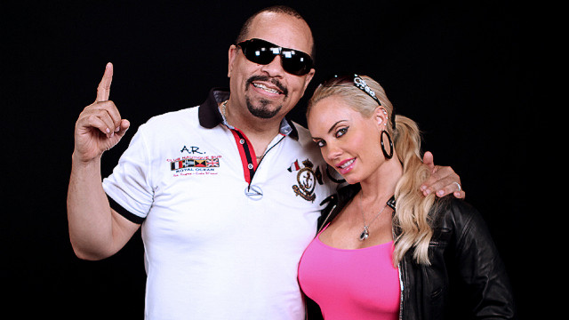 Ice T & Coco after iReport interview in Atlanta