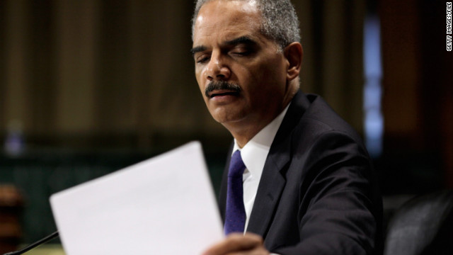 Attorney General Eric Holder testifies last week at a contentious Senate Judiciary Committee hearing.