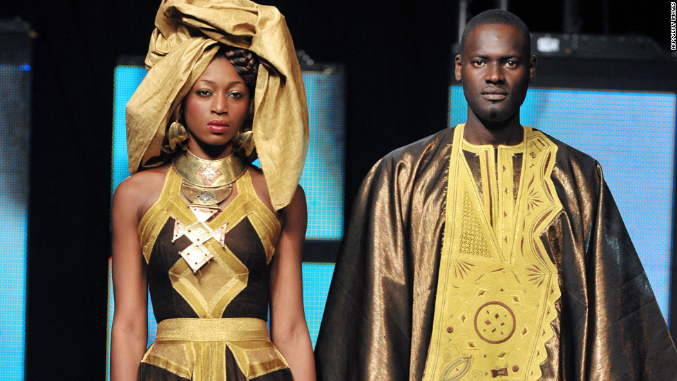 Benin designer Dasha Nicou adds a modern twist to traditional African styles.