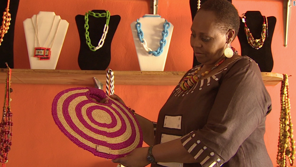 Gahaya Links co-founder Janet Nkubana is a champion for women in Rwanda. Her company has transformed women who were once enemies from warring tribes into business partners.