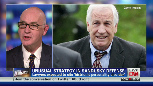 Sandusky's personality disorder defense