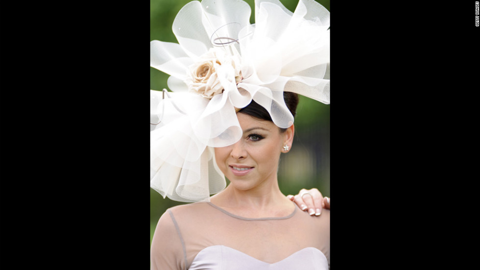 Lisa Scott Lee attends day two of Royal Ascot.