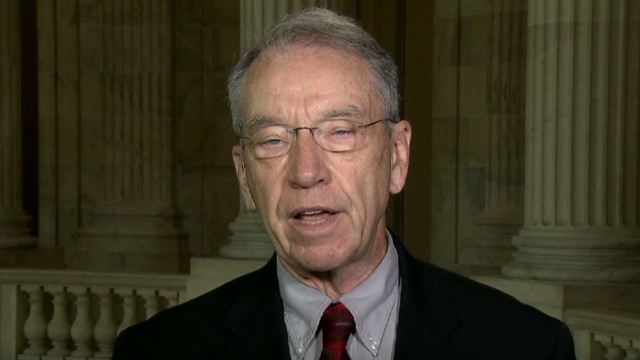 Grassley:Fast & Furious 'stupid' program