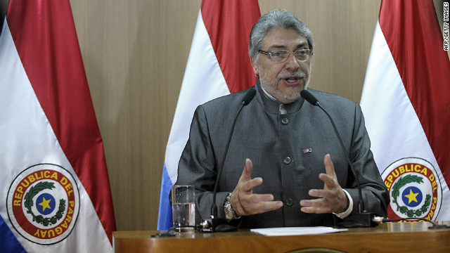 Paraguay president impeached
