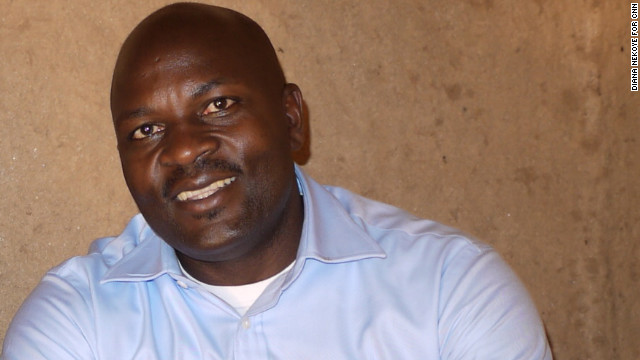 Kaguri, 41, runs his organization out of Michigan, but he travels to Uganda about three times a year.