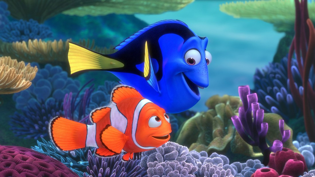 Pixar had by far its biggest hit to date with this story about a neurotic clownfish on a mission to rescue his son, who has been captured by scuba divers and put in an aquarium. The movie allowed Pixar's animators to stretch themselves by creating a colorful undersea world and won an Oscar for best animated feature. Worldwide box office: $937 million.