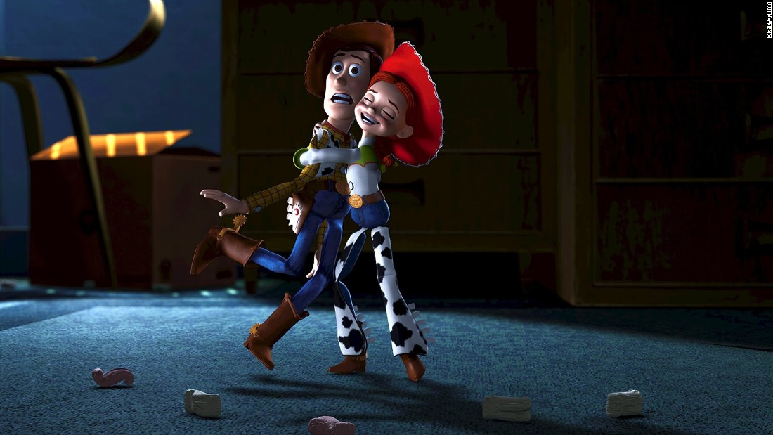 "Despite being abandoned by her former owner, ""Toy Story's"" Jessie -- a central character in ""Toy Story 2"" (1999) and ""Toy Story 3"" (2010) -- is upbeat and ready for action. She even gives Woody and Buzz Lightyear a run for their money."