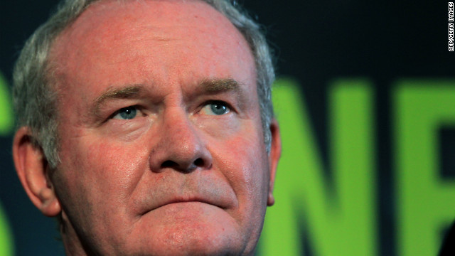 Martin McGuinness, now a Sinn Fein politician, is the deputy first minister of Northern Ireland. (File)