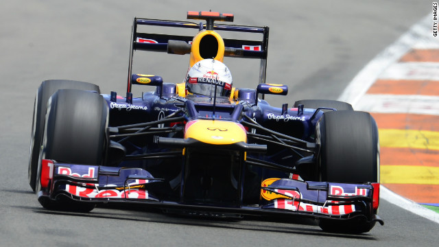Red Bull's Sebastian Vettel took victory at the Bahrain Grand Prix in April.